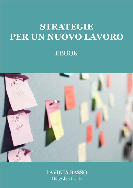 Strategie per un nuovo lavoro di Lavinia Basso, copertina ebook